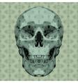Mosaic skull vector