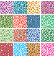 Colorful tile backgrounds vector