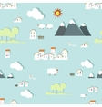 Seamless kids style wallpaper pattern vector