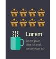 Food infographic element vector