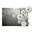 Mechanical wheels vector