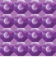 Seamless background of purple gemstones vector