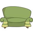 Green sofa vector