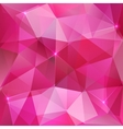 Pink crystal abstract background vector