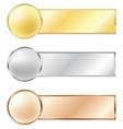 Sport medals vector
