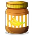 Banana jam vector