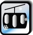 Winter icon - lift vector