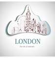 London city emblem vector