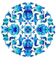 Ottoman motifs design series sixty three vector