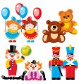 Children's toys vector