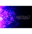 Bright purple grid abstract horizontal background vector