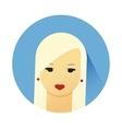 Girl with cute hair style vector