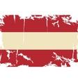 Austrian grunge flag vector