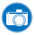 Photo camera allowing sign vector
