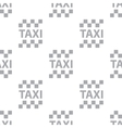 New taxi seamless pattern vector