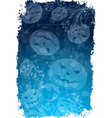 Abstract grungy halloween background vector