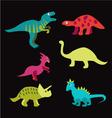 Dinosaurs - vector