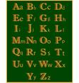 Abc english vector