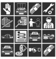 Car sales icons vector