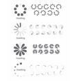Loading symbols vector