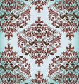Floral vintage damask background vector