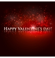 Happy valentines day holiday background vector