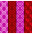 Set seamless background with a nice pattern vector
