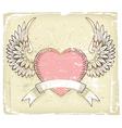 Retro love design vector