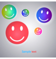 Smiley face background vector