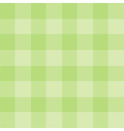 Tile green plaid background or wallpaper vector