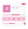 Music player vector