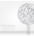 Concept of tree background for different design vector