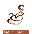 Coffee tea cup vector