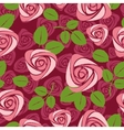 Ss floral rose vector background vector