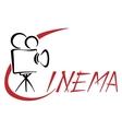 Cinema symbol vector