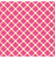 Red and pink plaid pattern2 vector