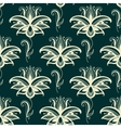 Persian paisley floral seamless pattern vector