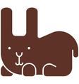 Rabbit icon vector