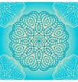 Delicate lace seamless pattern vector