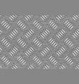 Seamless steel diamond plate vector