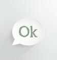 Ok sign vector