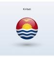 Kiribati round flag vector