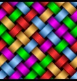 Multicolored ribbons vector