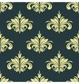 Arabesque damask style seamless background pattern vector