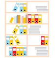 Office cupboard vector