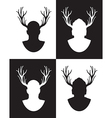 Stag set vector