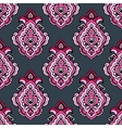 Seamless floral damask ve4ctor pattern vector