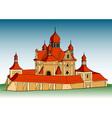 Europe church vector