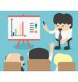 Business meeting brainstorming vector