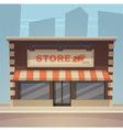 Cartoon store vector
